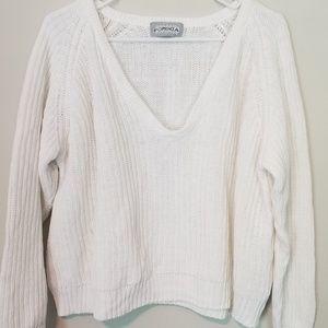 Vintage Knit cropped jumper